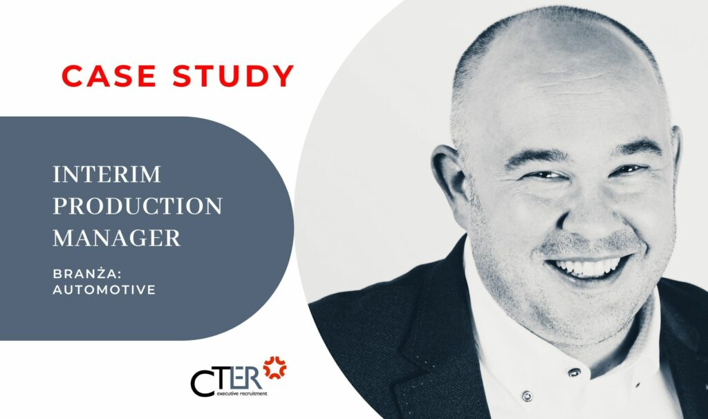 Case Study Interim Production Manager automotive