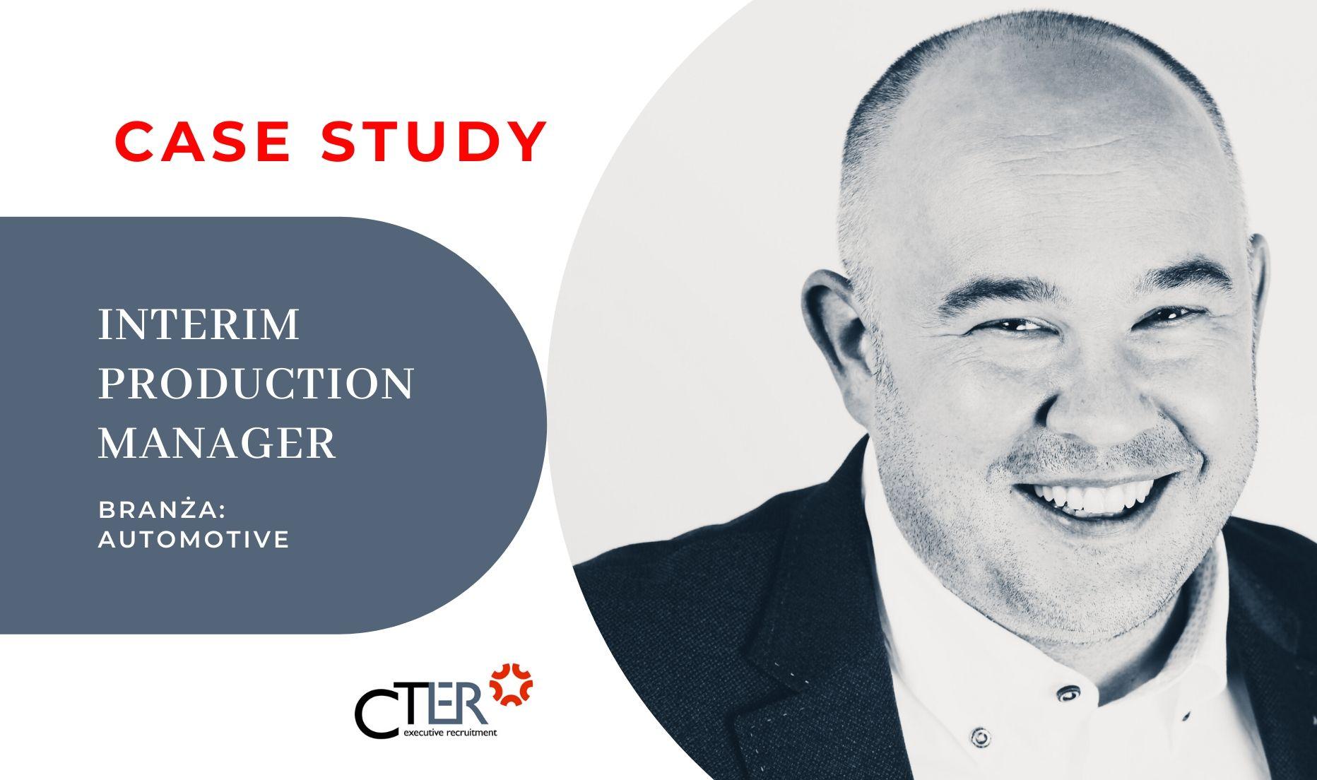 Case Study Interim Production Manager automotive