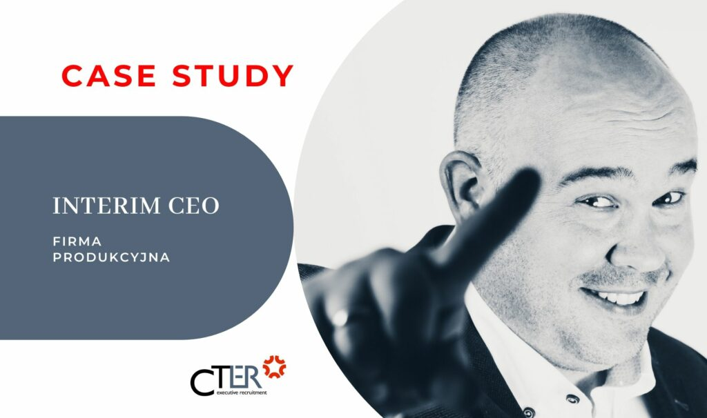 Case Study CTER Interim Manager CEO