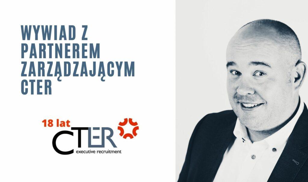 Piotr Goliński, Managing Partner CTER