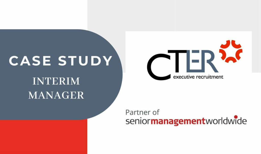 case study Interim Manager