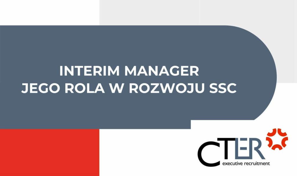 interim manager rozwoj ssc