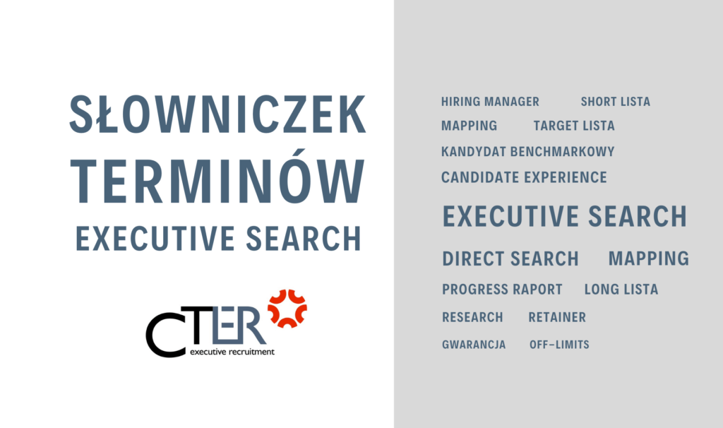 executive search pojęcia