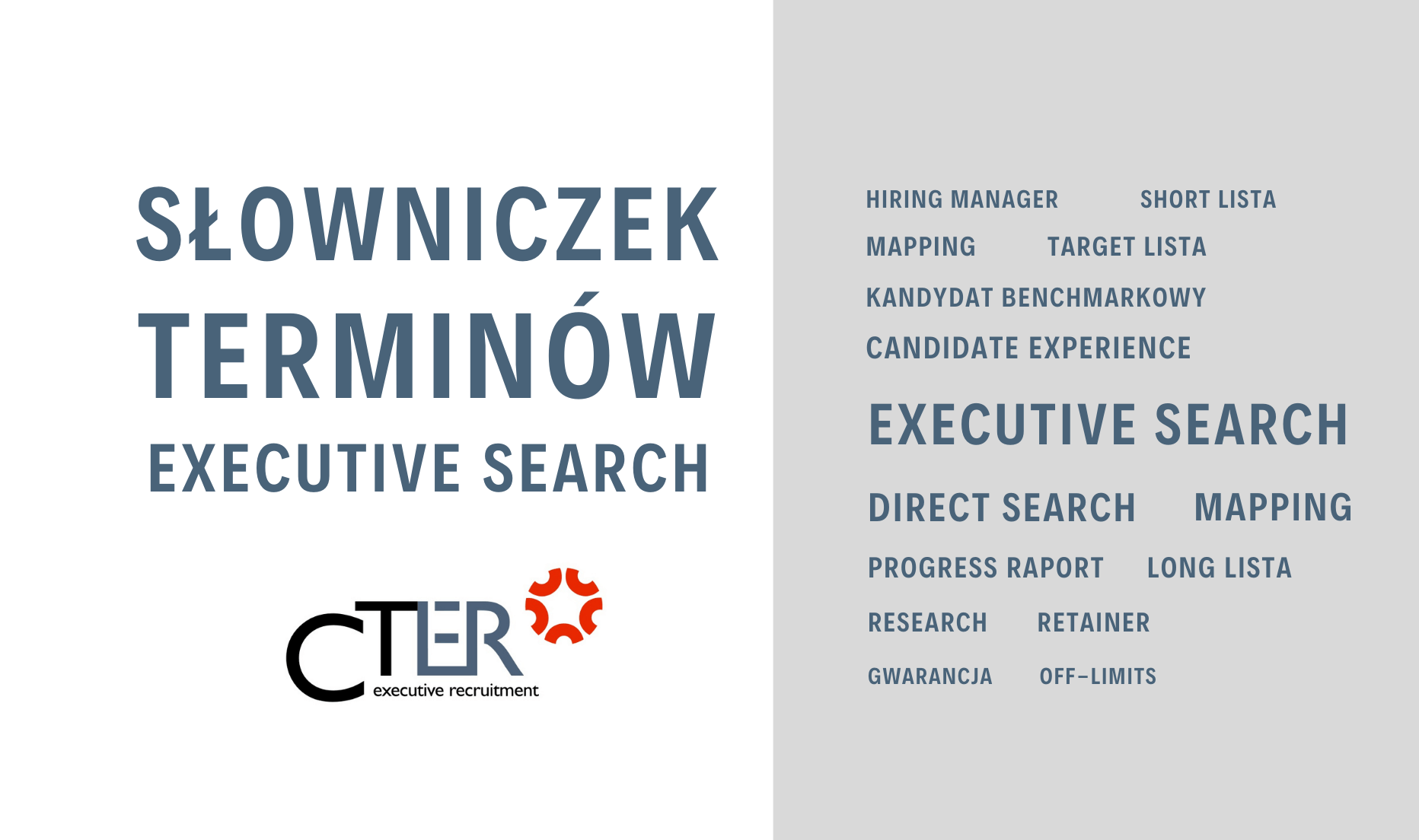Executive Search - pojęcia