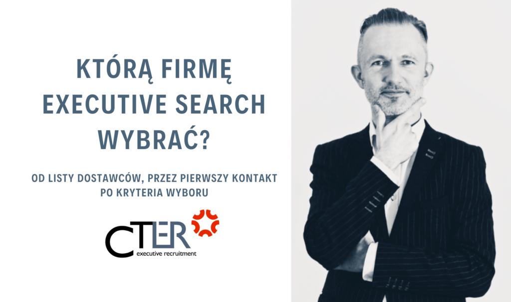 Executive Search jak wybrać