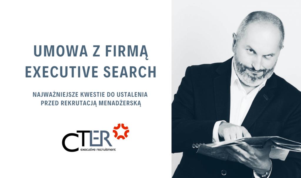 Executive Search umowa